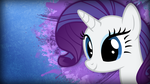 Rarity Grunge Wallpaper v2 by TwopennyPenguin