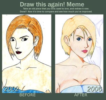 Draw This Again: Jill Valentine [Part 1] by Tommykupo