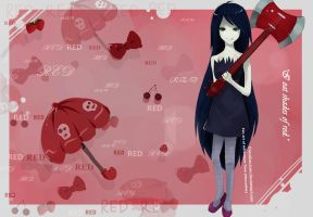Marceline-Adventure time! by ChenXiaoJuan
