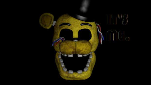 (SFMFNAF2) Withered Golden Freddy Wallpaper by techmonkey2000