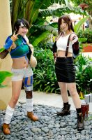 ALA13 - Yuffie and Tifa by BlizzardTerrak