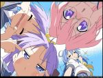 Funny Faces of Lucky Star by ClowKusanagi