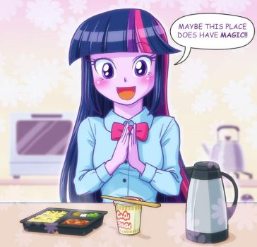 INSTANT FOODS is MAGIC by uotapo