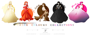 Hair Colours Collection by Neko-Vi