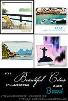 Icons - BeautifulCities Brazil by lilbrokenangel
