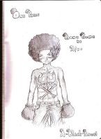 Afro Luffy by A-Black-Angel
