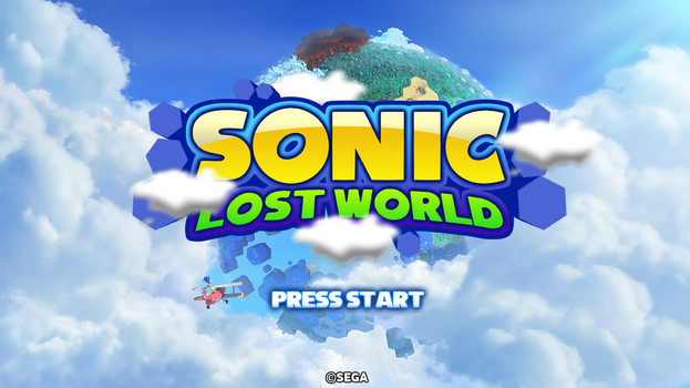 Sonic Lost World - MarkProductions' Title Screen by Mauritaly