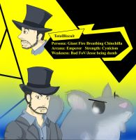 TotalBiscuit's Persona by Gallrith