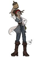 Captain MayaJack Sparrow by Kid-Apocalypse