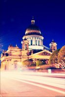 St. Petersburg, St. Isaac's Cathedral. by Orolenn