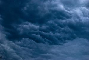 stock sky dark cloud background by amka-stock