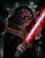 Darth Yoda by BMurdock