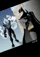 Batman vs. Mr. Freeze by Boky44