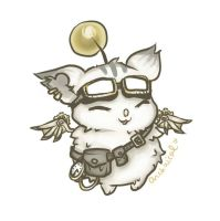 Steampunk Moogle by Archaical