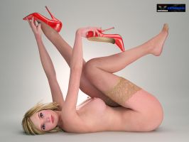 Nude Pantyhose by alice5423