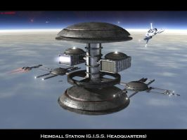 Heimdall Station by ILJackson