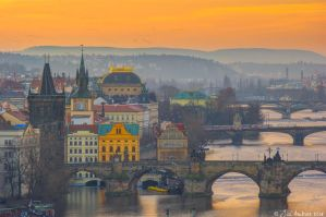 A morning in Prague by Sigfodr