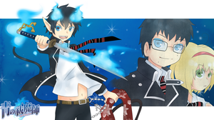Ao No Exorcist: Blue Exorcist by Enacchi