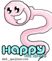 Happy the Sperm -pink- by dark-ape
