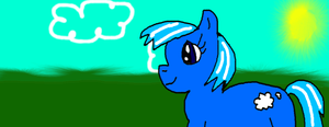 MLP OC Cloud Hopper :3 by TeamNoah