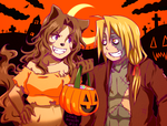 Happy Halloween 2012 by cookiemotel94