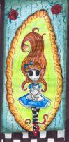 Alice on the Mirror by Alleby