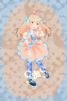 [CLOSED] Blue and Orange Bunny Adoptable Auction by Shalambay-Shift