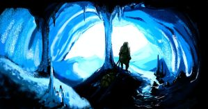 ice cave by Petitecreme