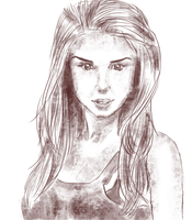 WIP: Marie Avgeropoulos by Circe17