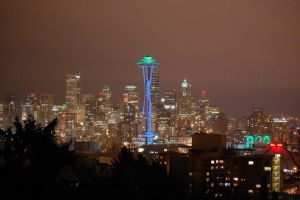 Seattle Skyline SoundersOpener by Bspacewiz2