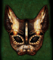 Bastet Mask by IllustratorG