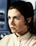 Princess Leia by Skyrawathi