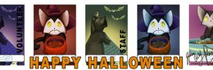 Halloween Badges by SkyeBD