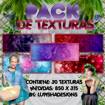 +PACK DE TEXTURAS by LupishaGreyDesigns