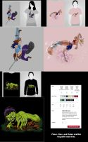 SEspider Productions_Tshirts 1 by SEspider