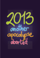 poster - another apocalypse aborted by iAmAneleBiscarra