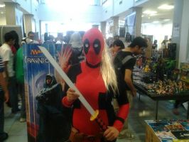 Cosplay: Lady Deadpool again by Magicfrenchfry