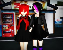 ::Cig and Cherry:: by KaylaChan92