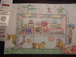 Anime-Surrealism Cafe by 6-9Changeling