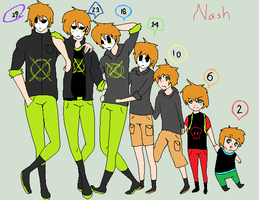 Nash's Ages by xXBlackJade101Xx
