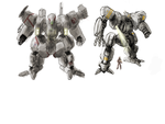 Mech concepts by Kwibl