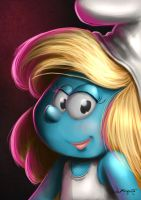 Smurfette by roemesquita