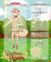 Daydream Chronicles Application: Cayden by Bearries