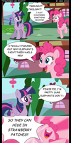 MLP Comic - Strawberries and Peanuts by MikeDugan