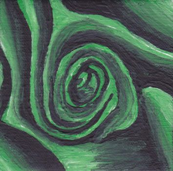 Green Rose by Bex013