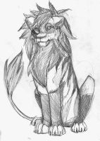 Le-lion by Jackelfoot