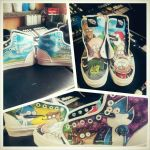 regular show vans by noahsartcustoms
