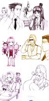 Ace Attorney Dump by SuppieChan