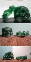 Wax Skull Rings by angotti81