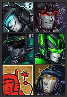 Streamed icons - The Aftermath by shibara-draws-mecha